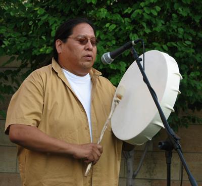 Drum Making Workshop with Tony Showa (Navajo)