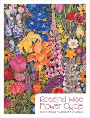 PUZ BLOCK FLOWER CYCLE ROSALIN,PB012