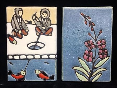 "ART TILE 4"" X 6"" ASRT ANIMALS"