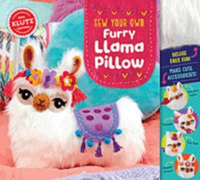 KIT SEW FURRY LLAMA PILLOW,827105