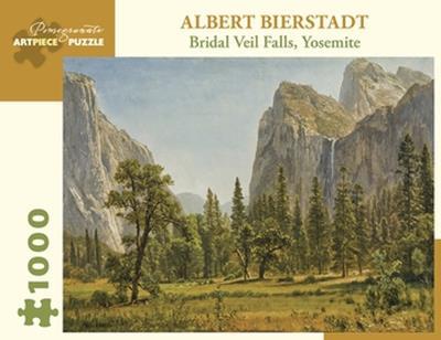 PUZ BRIDAL VEIL FALLS, YOSEMITE ALBERT BIERSTADT 1000 PIECE,AA1029