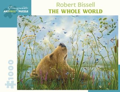 PUZ ROBERT BISSELL THE WHOLE WORLD 1000PC,AA1049