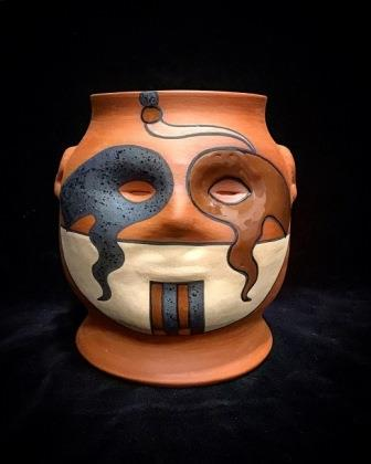 POT W FACE/HEADS