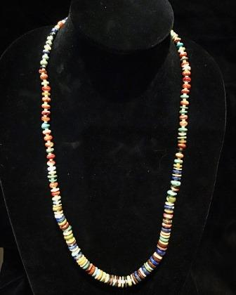 NECK MULTICOLOR/STONE LONG