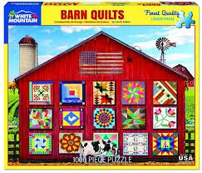 PUZ BARN QUILTS 1000 PIECES,1470PZ