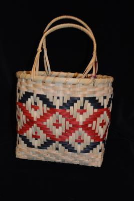BASKET CHOCTAW DIAMOND BASKET