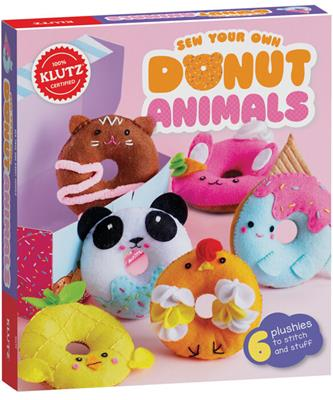 KIT DONUT ANIMALS, SEW YOUR OWN,856615