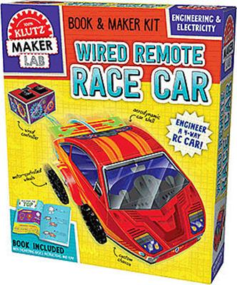KIT RACECAR WIRED REMOTE, MAKER LAB,827125