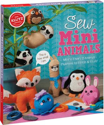 KIT SEW MINI ANIMALS,810644