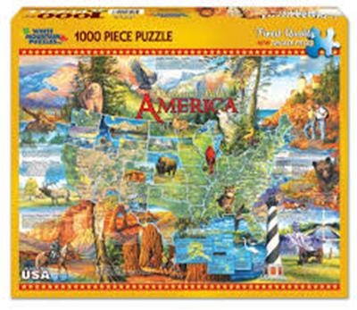 PUZ NATIONAL PARKS 1000 PC,530PZ