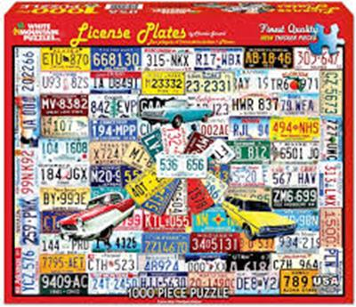 PUZ LICENSE PLATES 1000 PC,961PZ